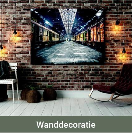 Shop wanddecoratie
