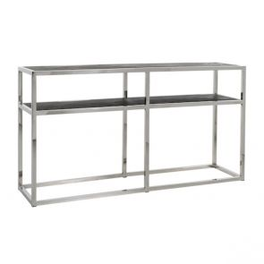 Richmond - Wandtafel Blackbone Silver