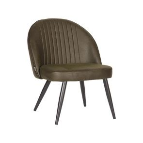 Fauteuil Enzo Army Microvezel 65x68x79 cm