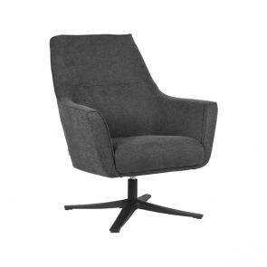 Fauteuil Tod Antraciet Weave 1