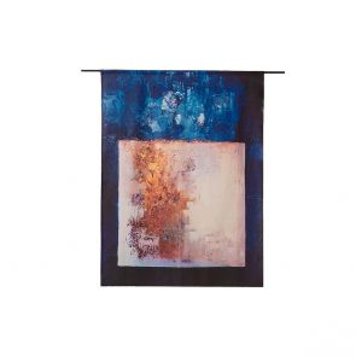 Urban Cotton - Wandkleed Abstract in E-Mineur 110x145 cm